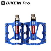 BIKEIN רכיבה על אופניים אופני הרי BMX 3 אופני נושאות CNC 9/16 אינץ החלקה חיצוני MTB דוושות האולטרה השטוח אביזרי-בדוושות לאופניים מתוך ספורט ובידור באתר
