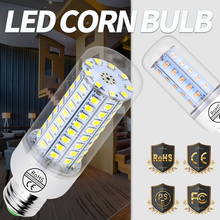 E14 LED Lamp 220V Bombilla LED E27 Bulb 3W 5W 7W 9W 12W 15W 20W Corn Light Bulbs For Home 2835 SMD Lampada LED Chandelier Light 4 packs e14 led light led bulbs 5w 7w 9w 12w r39 r50 r63 r80 led globe light mushroom bulb e14 e27 base socket ac220v