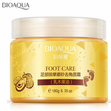 Pure Natural 180g Moisturizing Foot Cream Easily Solve The Problems of Foot Skin Exfoliating Foot Care Foot Massage Scrub Cream