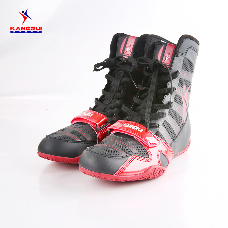 Wrestling shoes for men training shoes geniune leather sneakers professional boxing shoes tenis feminino de boxe