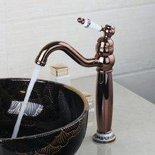 Керамическая одной ручкой Розы Золотой поворотный 360 бортике 97154 раковина кухня torneira Cozinha смеситель кран