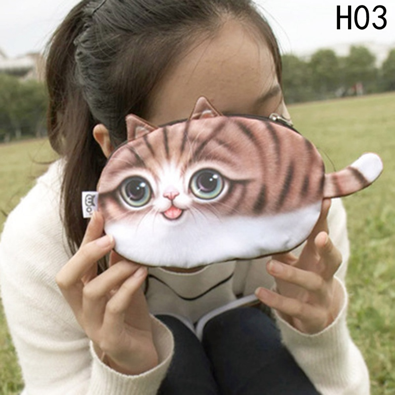 New Small Tail Cat Coin Purse Women Coin Wallet Cute Kids Coin Pouch Children Purse Holder Cartoon Wallet Bag new small tail cat coin purse cute kids cartoon wallet kawaii bag coin pouch children purse holder women coin wallet