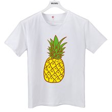 Harajuku printing fashion Summer T Shirt Women Tops Peach Pineapple Banana Cherry Fruit Short-sleeved T-shirt Loose Shirts