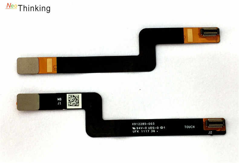 ספר NeoThinking מחבר עבור Surface של מיקרוסופט 1703 X912285-003 חיבור מסך 1704 Touch Digitizer להגמיש כבל סרט