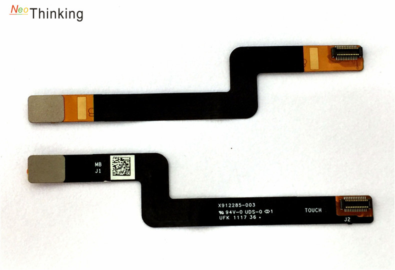 NeoThinking Connector For Microsoft Surface Book 1703 1704 Touch Digitizer Flex Cable Ribbon Connecting Screen X912285-003