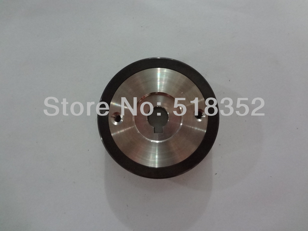 X058D339G51 M408C Mitsubishi Black Ceramic Capstan Roller OD57mmx T18mm for FX, FK-K, QA, FA20, RA series WEDM-LS Machine Parts x054d412g53 m404c mitsubishi black ceramic capstan roller od57mmx t25mm for wedm ls wire cutting wear parts