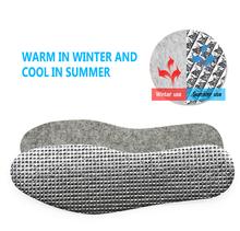 Demine ciepła folia aluminiowa wkładka amortyzacja dezodorant pochłaniające pot oddychające wkładki sportowe rekreacyjne uniwersalne wkładki tanie tanio ≤1cm Średnie (b m) foil Insole WOMEN COTTON Stałe Termiczne Szok-chłonnym Wytrzymałe Szybkoschnący Pot-chłonnym