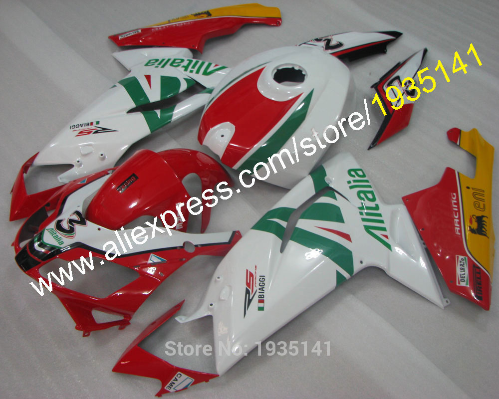 Hot Sales,Fashion bodywork parts For Aprilia RS125 fairing kit 2007-2011 RS 125 Multi-color 07 08 09 10 11 (Injection molding)