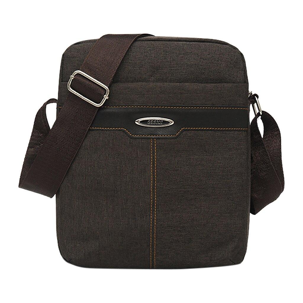 Business Crossbody Satchel Men/'s Chest Bags Leisure Travel Bag Tole Shoulder Bag