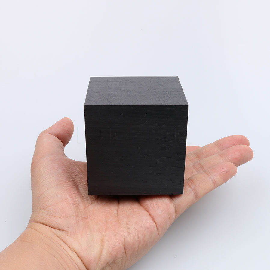 1pcs Cube Wooden LED Alarm Clock Sounds Control With Temperature Red LED Display Electronic Digital Desktop Table Clocks