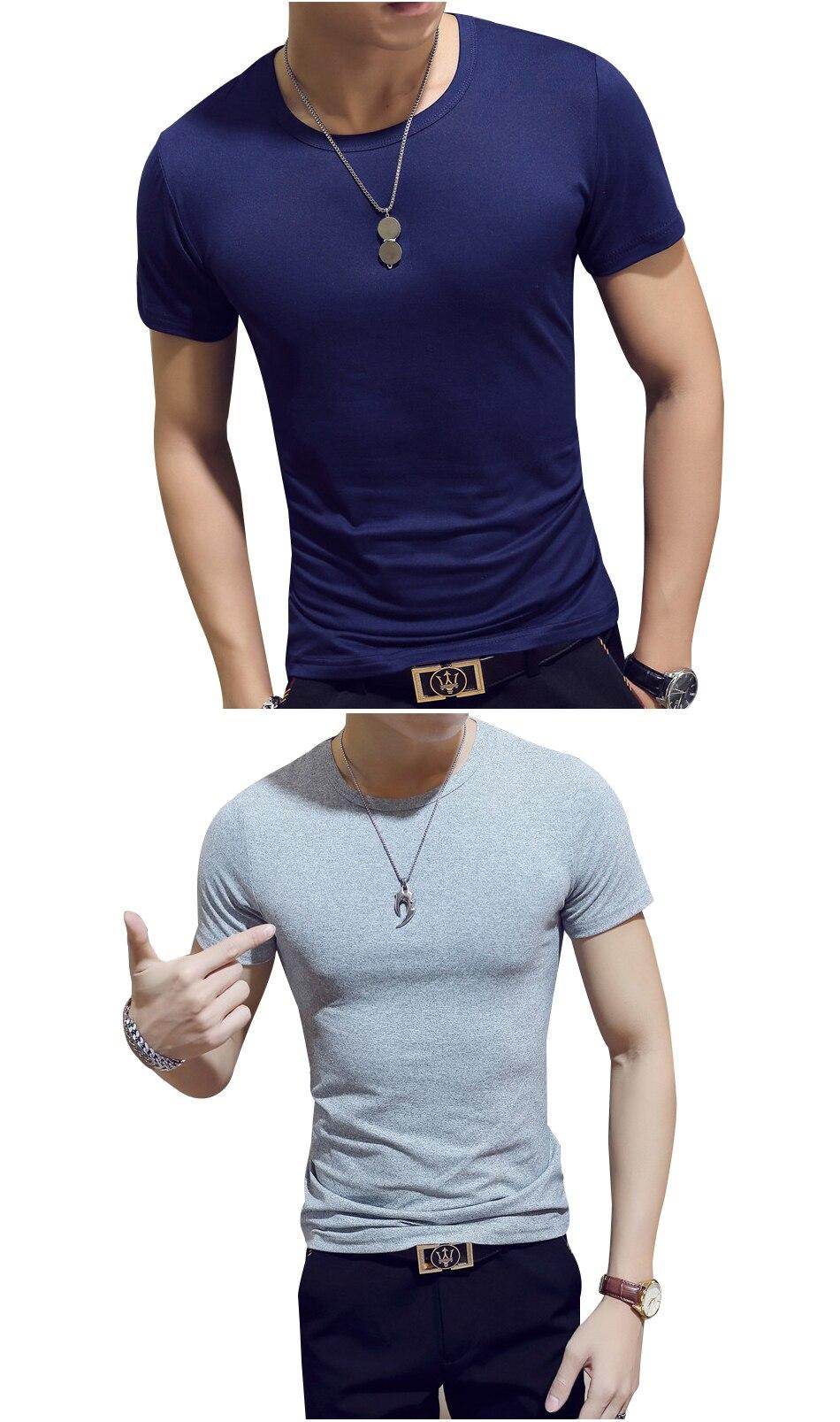 Compression Clothing Hommes Fun Musculation Homme De Tops Armée Shirt D'été Solide Manches Courtes Couleur T Mens À Mode j35ALc4Rq