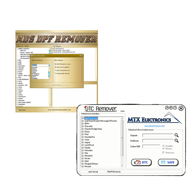 Mtx Dpf Remover