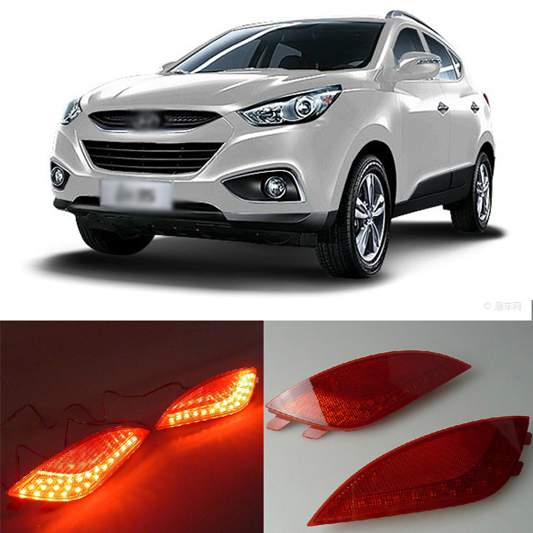 Ownsun Superb LED Reflector Rear Tail Light Bumper with Turn Signal For Hyundai IX35