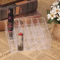 T2N2 Fashion Clear Acrylic 24 Cosmetic Organizer Makeup Case Holder Display Stand Storage