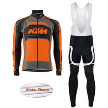 Cycling Jersey 2018 KTM long sleeve Winter Polar wear Bikes bib clothing Pants mountain bike cycling clothing man i7