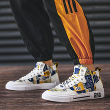2019 Trend Men Skateboarding Shoes Male Sneakers High Help Leisure Lightweight Comfortable Canvas Shoe For Casual X