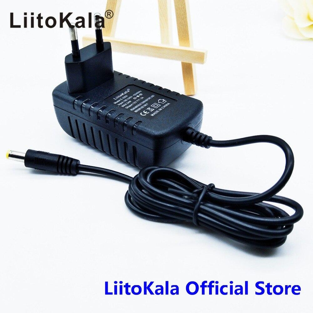 LiitoKala 12 V 1.5A adaptateur pour lii-260 lii-300, adaptateur 12 V 2A pour lii-400 lii-500, chargeur de batterieLiitoKala 12 V 1.5A adaptateur pour lii-260 lii-300, adaptateur 12 V 2A pour lii-400 lii-500, chargeur de batterie