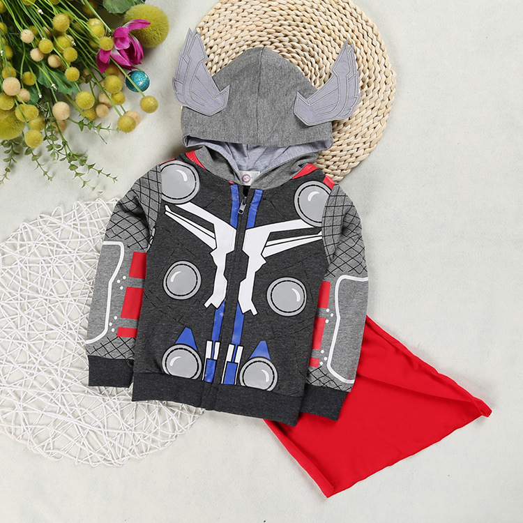 2017 New Baby  Jacket New Winter Clothes  Outerwear Zipper Coat Cotton thin Kids Clothes Children Clothing With Hooded Six Color new baby girls cotton coat winter fashion fur collar hooded jacket thick warm velour outerwear candy children kids clothes xl254