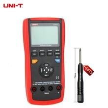 Buy Portable Handheld UT611 LCR Meter 10KHz Inductance Capacitance Resistance L C R DCR Q D Theta ESR Tester UNI-T