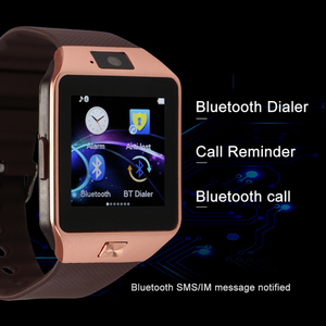 Image 4 - Mens Sports Smartwatch DZ09 Android Phone Call Bluetooth Smart Watch Relogio 2G GSM SIM TF Card Camera for Phone PK GT08 A1