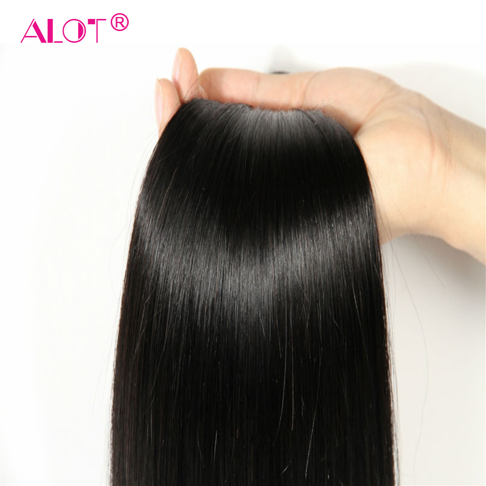Alot Peruvian Straight Hair Bundles With Closure 3 Bundles With Closure Human Hair Weave Bundles With Alot Peruvian Straight Hair Bundles With Closure 3 Bundles With Closure Human Hair Weave Bundles With Closure Non Remy 4 Pcs/lot