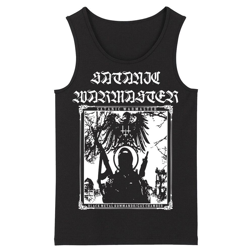 Bloodhoof Satanic Warmaster Death Metal Grindcore HardMetal Deathcore New Men's   Top     Tank     Tops   Asian Size