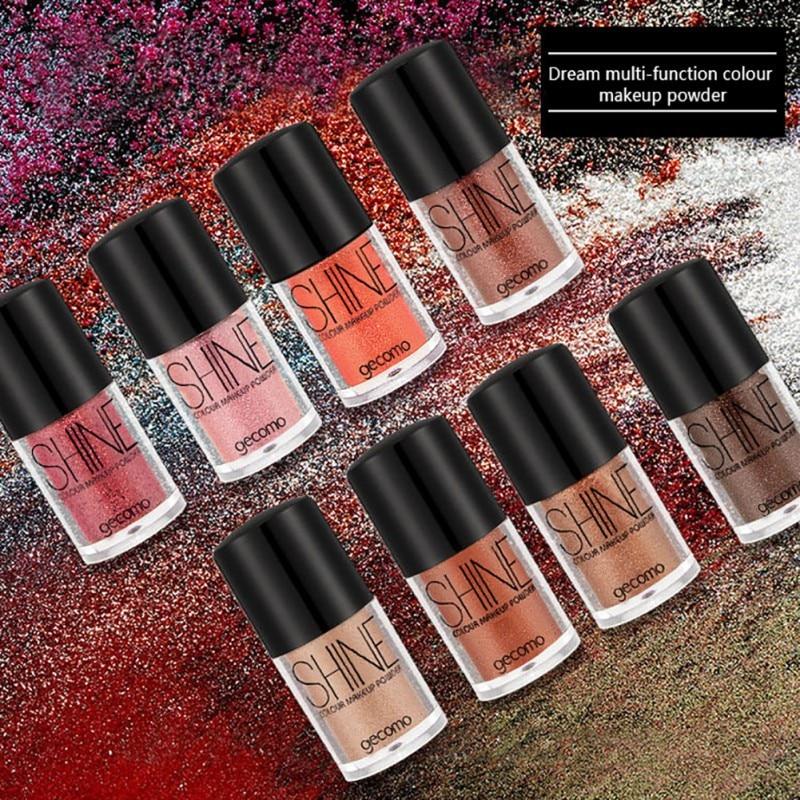 Beauty Eye Shadow Glitter Makeup Shimmer Eyeshadow Shiny Pigment Powder Lip Make Up Lip -1857