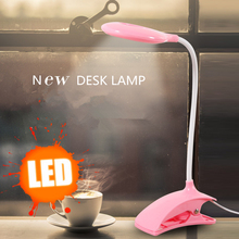 18 LEDS Table Lamp Desk lamp USB led  with Clip Bed Reading book Light LED Modern fixtures