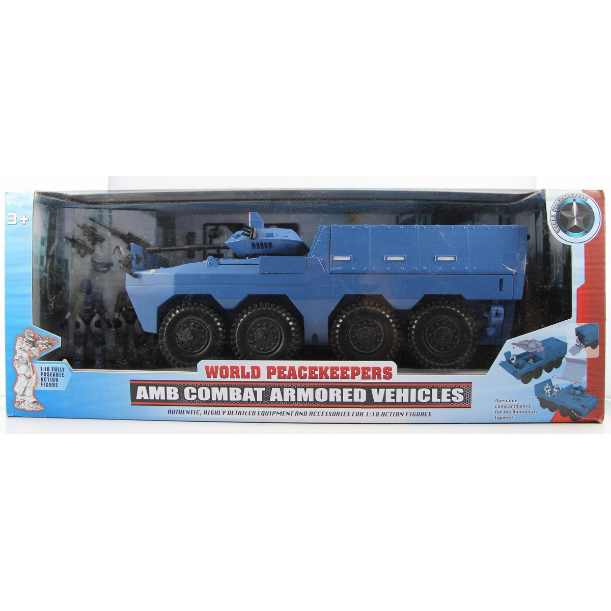1/18 World Peacekeepers soldier AMB COMBAT ARMORED VEHICLES action figures Military model toy set for boy gift free shipping1/18 World Peacekeepers soldier AMB COMBAT ARMORED VEHICLES action figures Military model toy set for boy gift free shipping