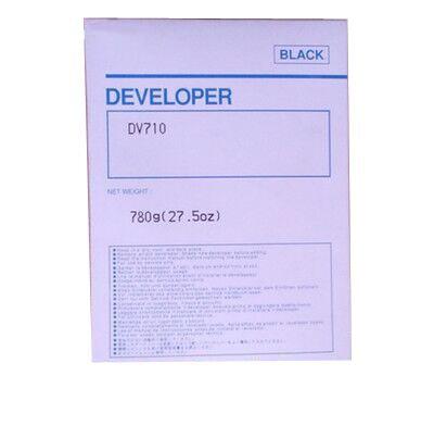einkshop 780g DV710 Black Compatible Developer For Minolta Bizhub BH 751 600 750 601 Copier Parts Copier Parts 625g compatible dv511 developer for minolta bh420 421 500 501 7145 copier parts