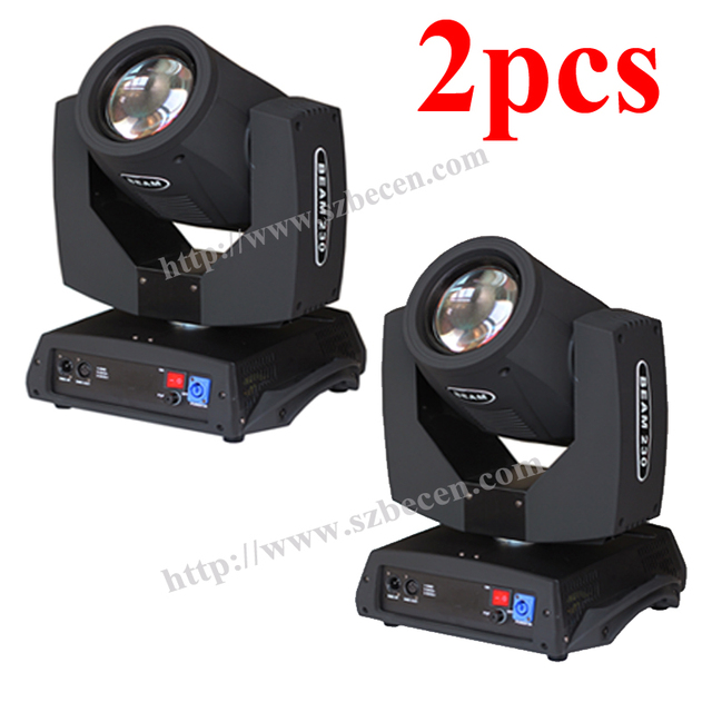 No tax 2pcs/lot Sharpy Beam 230W 7R Moving Head Light/ 230 Beam 7R Disco Lights for DJ Club Nightclub Party