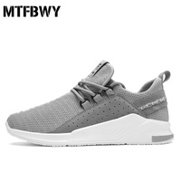 Men S Sneakers New Summer Mesh Breathable Running Shoes Gray Outdoor Footwears Size 39 44 815s