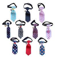 16 couleurs cravate pour animaux de compagnie réglable cravates pour petits chiens de taille moyenne chat chien noeud papillon collier accessoires pour chiens