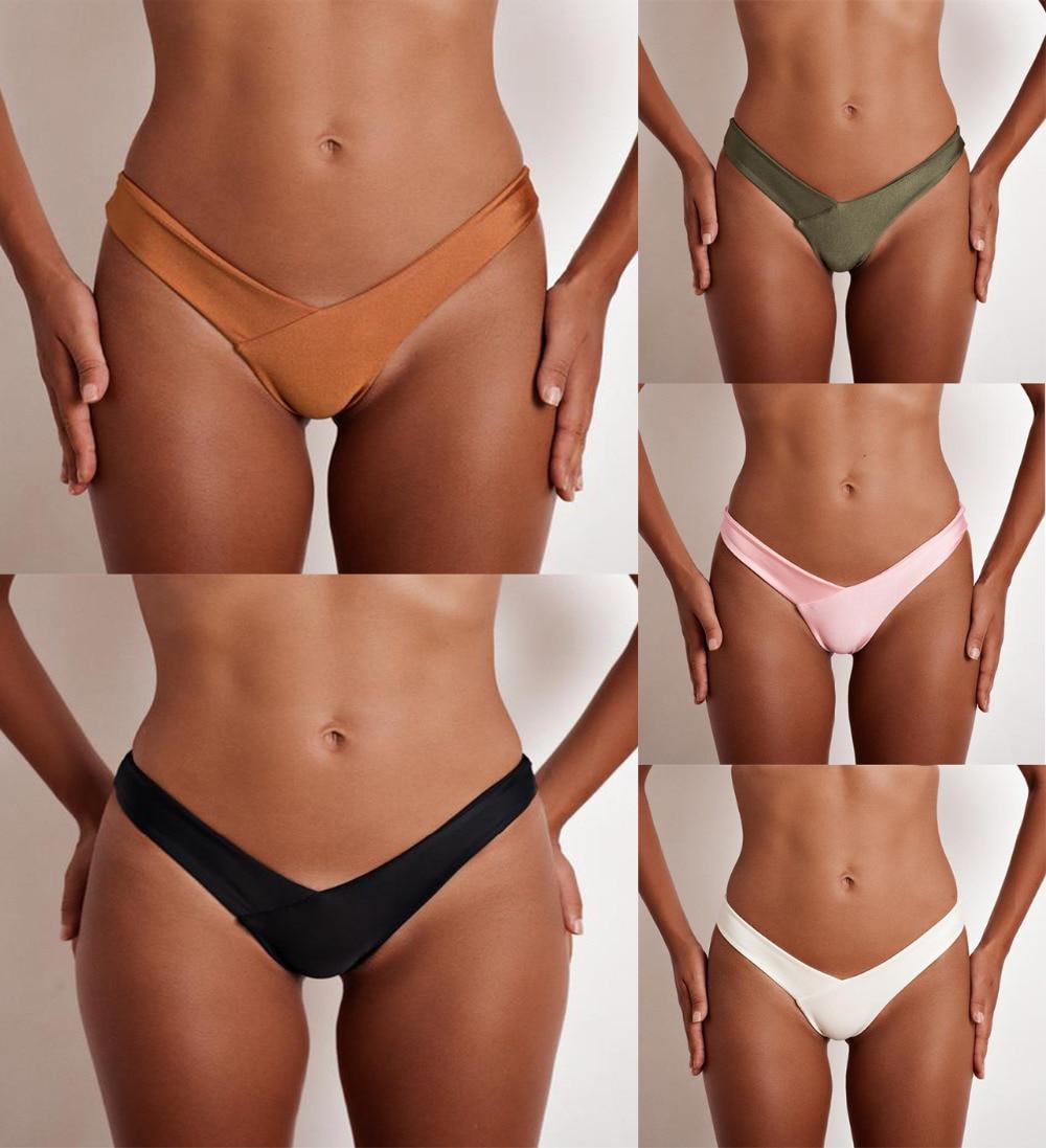 HTB12PLcnVuWBuNjSszbq6AS7FXal TOKITIND S-XL Sexy tiny brazilian bikini bottom female swimwear women G-string Briefs micro mini Thong Panties Underwear Tanga