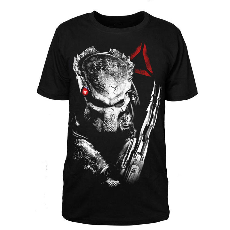 new 3d flim predator t shirt printing design cotton short. Black Bedroom Furniture Sets. Home Design Ideas
