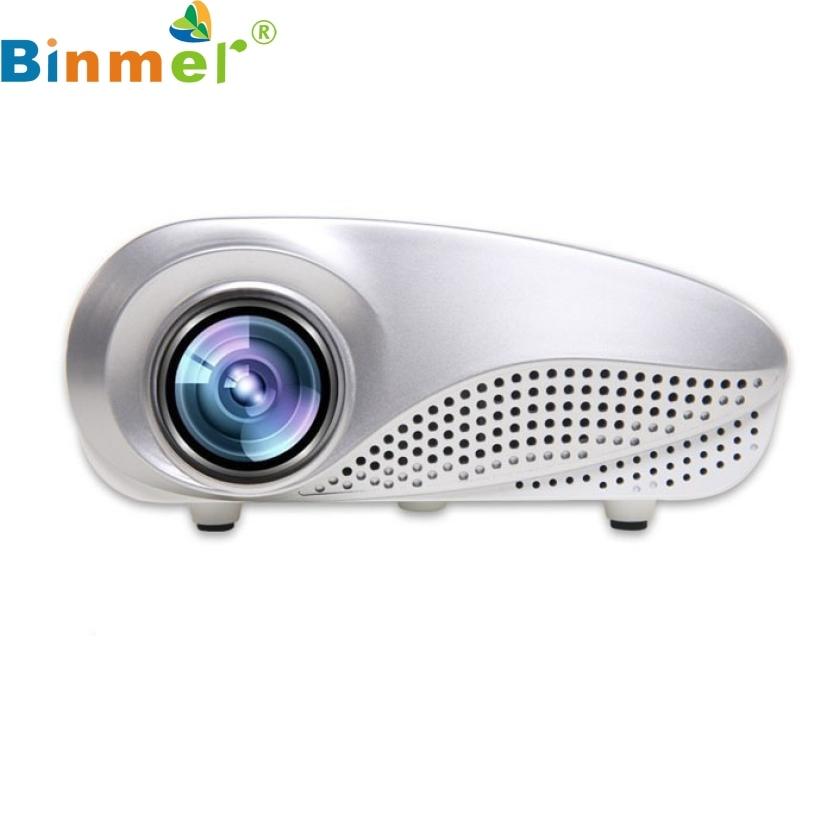 Top Quality Mini Home Multimedia Cinema LED Projector HD 1080P Support AV TV VGA USB HDMI SD For Home FE2