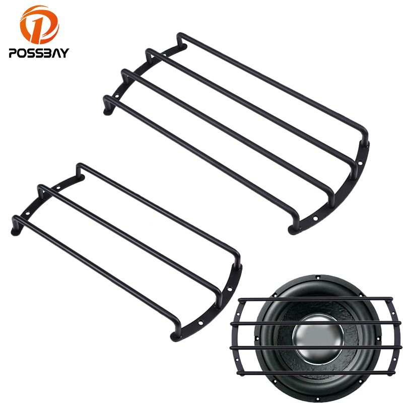 """12/"""" Inch Bar Style Metal Speaker Grill Grille Base Cover Subwoofer Protection"""