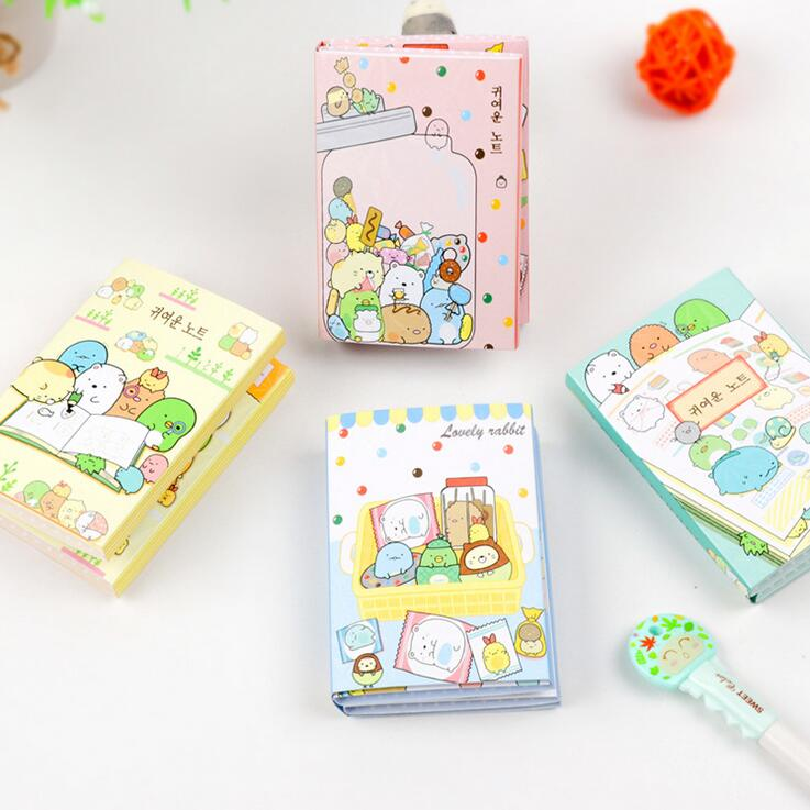 Cute Sumikko Gurashi 6 Fold Self-Adhesive Memo Pad Sticky Notes Bookmark School Office Supply