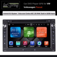 Android 6 0 Two Din 7 Inch Car DVD Player For VW Volkswagen Passat Radio Stereo