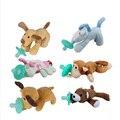 Mambobaby bebé cadena de chupete clips infantil juguete divertido chupete nipple holder recién nacido mordedor bebé seguro supplie alimentación animal perro
