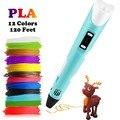 Dikale 3D Ручка для печати DIY 3D Ручка Карандаш 3D Ручка для рисования sthift PLA нити для детского образования творческие игрушки подарки на день рожд...