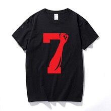 d63fc49fced LNOHKAIFVS Colin Kaepernick 7 FIST T-shirt Black Lives Matter Cotton Short  Sleeve. US  9.27   piece Free Shipping