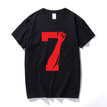4f2859bcb1f Colin Kaepernick 7 FIST Men s T-shirt Black Lives Matter Tshirt New Fashion  Cotton Short Sleeve T shirt Men Top Camiseta Hombre