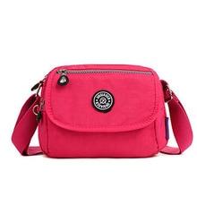 2016 frauen Messenger Bags Damen Nylon Handtasche Reise Casual Schulter Weiblichen Qualität Große Kapazität Crossbody Tasche B136