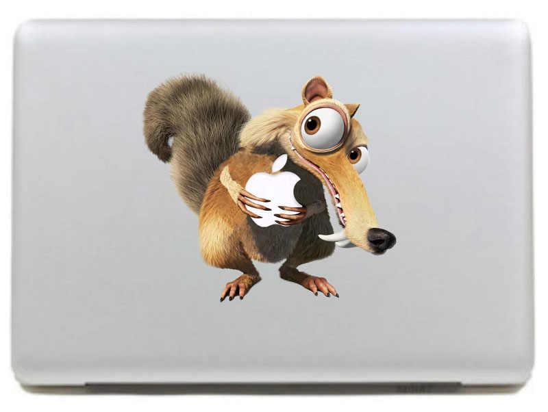 Großen vorderen zähne wiesel Vinyl Aufkleber Aufkleber für Neue Macbook Pro/Air 11 13 15 Zoll Laptop Fall Abdeckung aufkleber