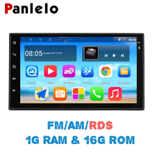 Panlelo S10 Autoradio 2 Din Android Car Stereo 7″ 1024*600 1080P Quad Core 2din Android Head Unit GPS Navigation Audio Radio