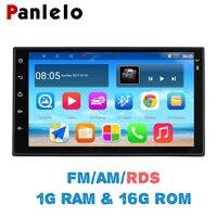 Panlelo S10 Autoradio 2 Din Android 7.1 Car Stereo 7 1024*600 1080P Quad Core 2din Android Head Unit GPS Navigation Audio Radio