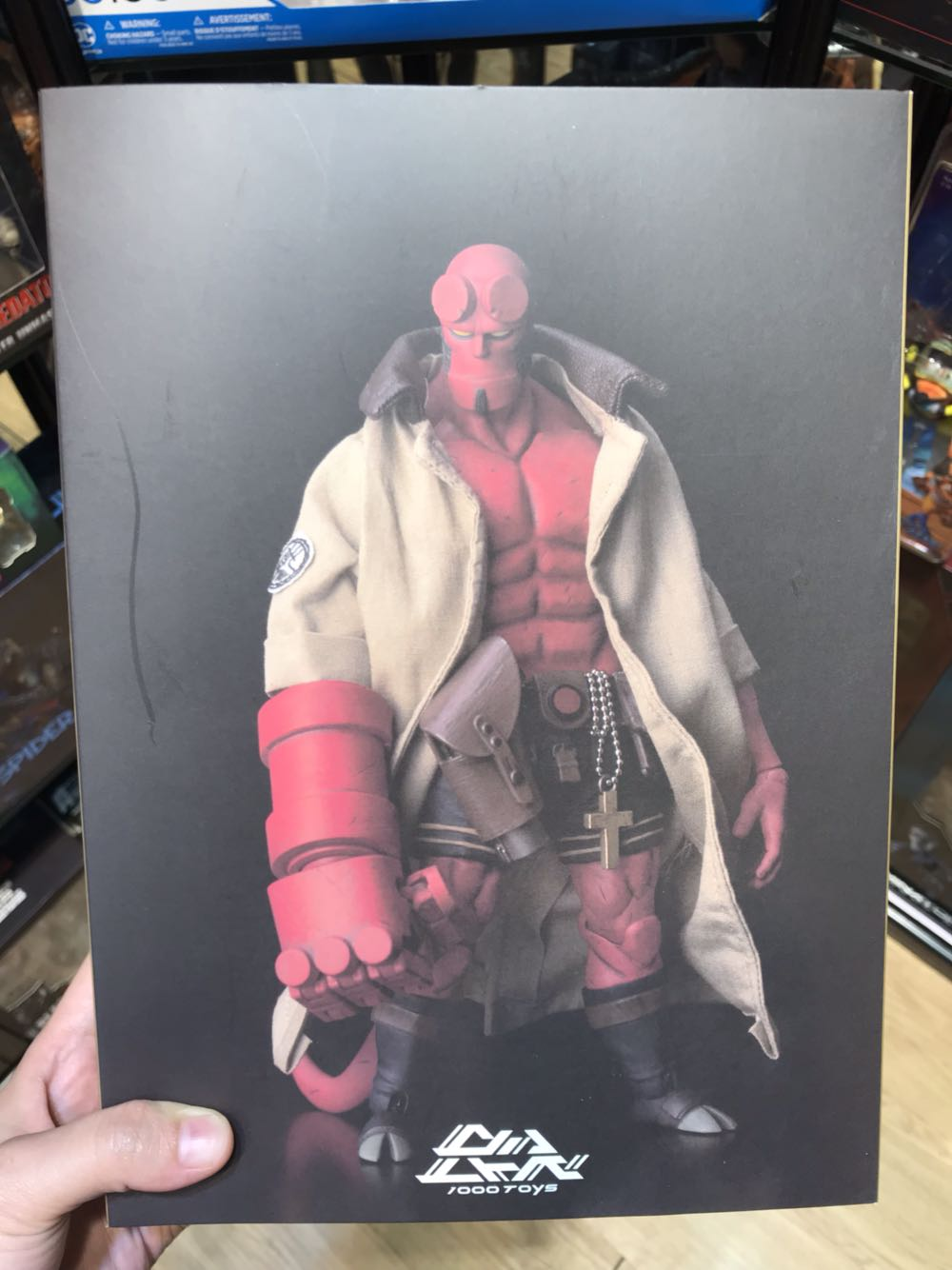 Hellboy Thousand Value Training Hellboy PVC Action Figure Collectible Model Gift Toy 18cmHellboy Thousand Value Training Hellboy PVC Action Figure Collectible Model Gift Toy 18cm