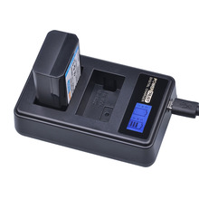 1 Pcs Baterias NP-FW50 FW50 NP NPFW50 + LCD USB Carregador Duplo para Sony Alpha a7R a7 a7R 7R a6300 a6500 II a7II NEX-3 NEX-3N NEX-5