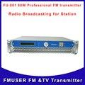 FU-80W Fmuser CZH 80 W FM Transmisor de radiodifusión de Radio Inalámbrica Del Campus En Línea para La Escuela